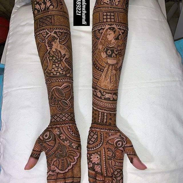 bridal_groom_mehandi_design6