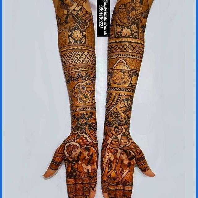 top_bride_groom_mehandi_design8