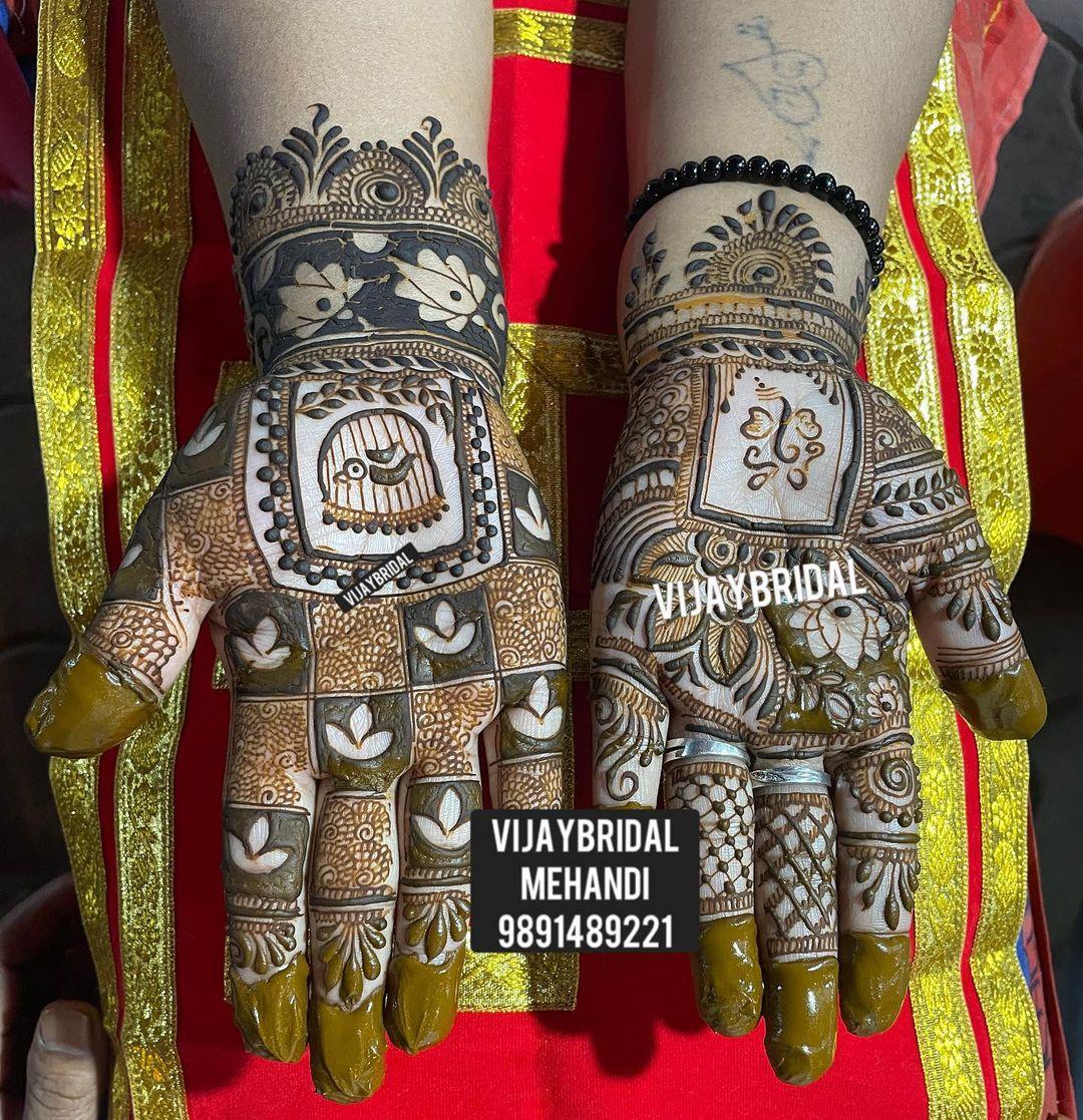 Vijay bridal mehandi in East Of Kailash